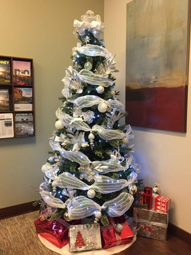 Office Chritmas Tree Dallas Fort Worth TX